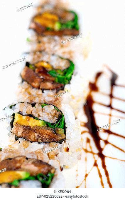 fresh sushi choice combination assortment selection