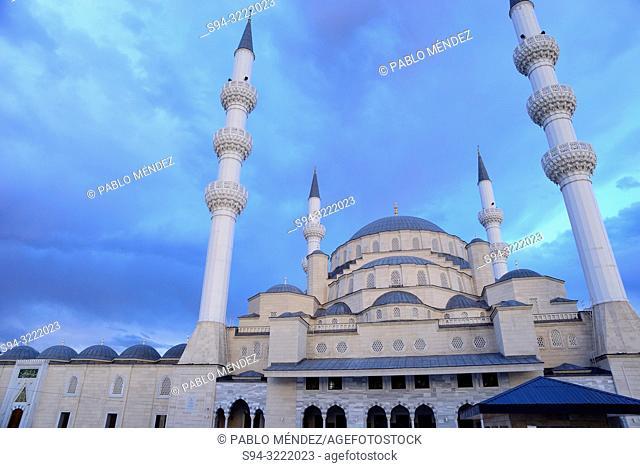 The big mosque (Central Mosque) of Bishkek, Kyrgyzstan