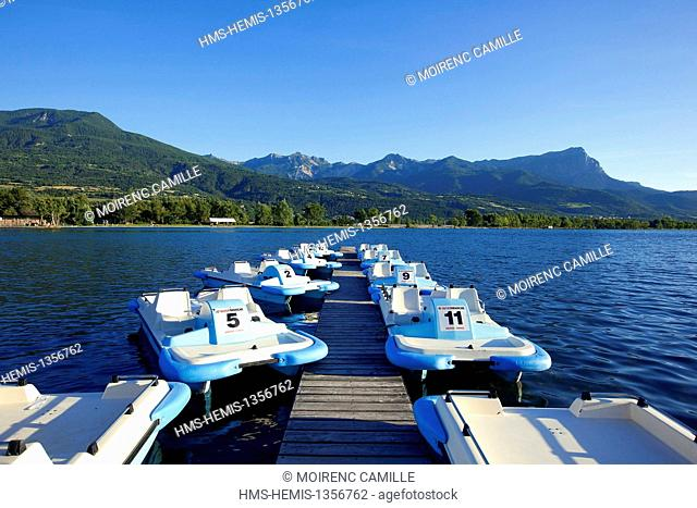 France, Hautes Alpes, Embrun, water and leisure center