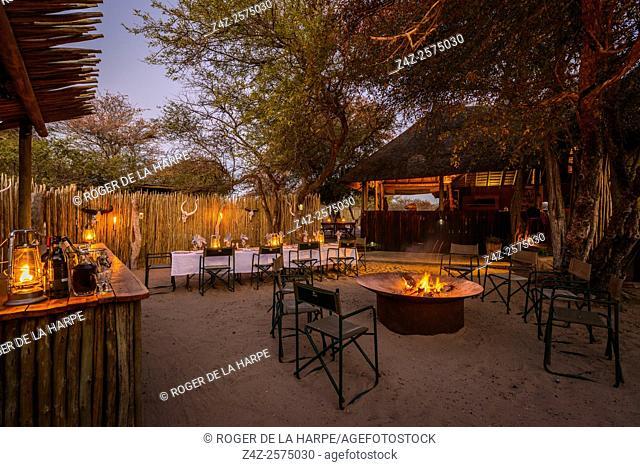 Haina Kalahari Lodge. Botswana