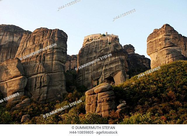 Metéora, world cultural heritage, Kalambaka, Kastr