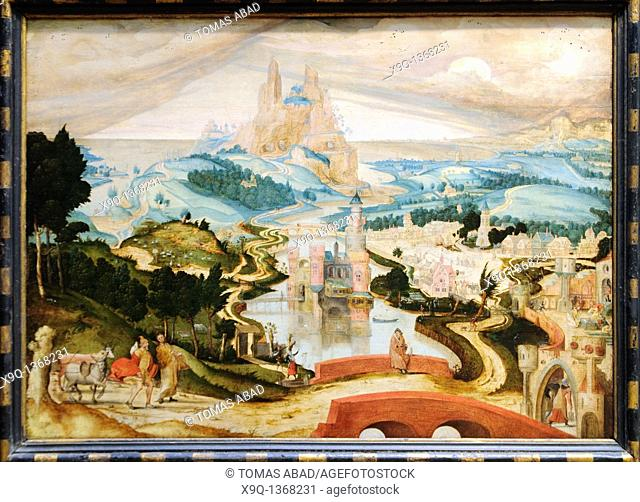 The Arrival in Bethlehem, ca  1540, Attributed to Master LC Netherlandish, active second quarter 16th century, Oil on wood 26 1/2 x 36 7/8 in  67 3 x 93 7 cm