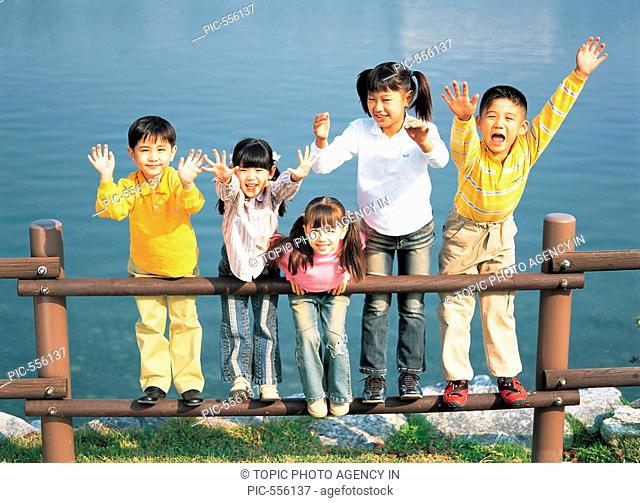 Group Portrait of Children