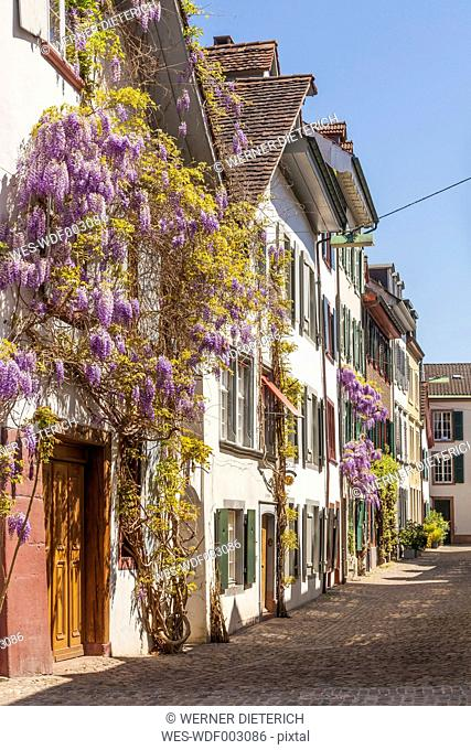 Switzerland, Basel, houses at the Old Town