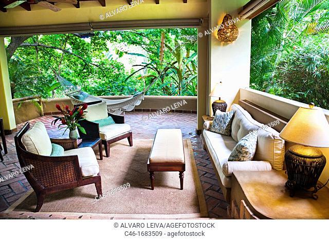 Hotel Flor Blaca, Carmen beach, Nicoya Peninsula, Costa Rica