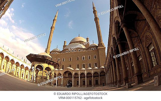 Mohamed Ali Mosque, at Citadel, Cairo , Egypt
