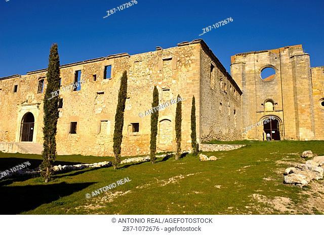 Monastery of Santa Maria de Monsalud, Corcoles, La Alcarria, Guadalajara province, Castilla-La Mancha, Spain