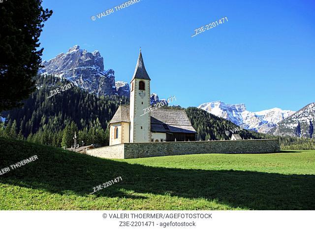 San Vito church in South Tirol, Italy