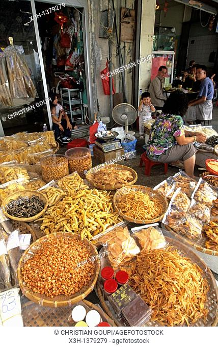 dried seafood shop, Chung Chau island, Islands District, New Territories, Hong-Kong, People's Republic of China, Asia
