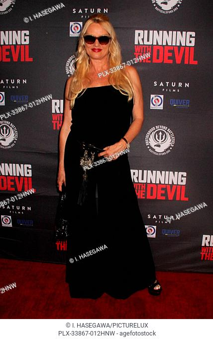 "Nicolette Sheridan 09/16/2019 """"Running with the Devil"""" premiere held at Writers Guild Theater in Beverly Hills, CA Photo by I"