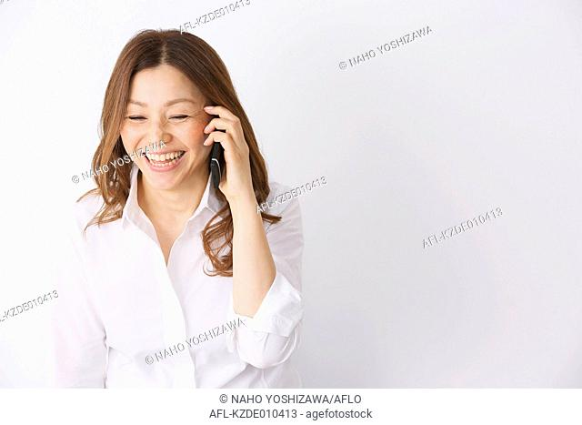 Fashionable Japanese Businesswoman