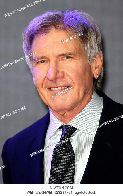 Star Wars: The Force Awakens - UK film premiere Featuring: Harrison Ford Where: London, United Kingdom When: 16 Dec 2015 Credit: WENN.com