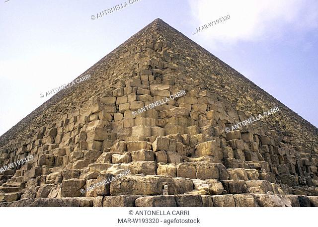 africa, egypt, cairo, giza, pyramid of khufu