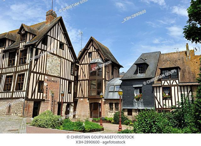 Pont-Audemer, Eure department, Normandy region, France, Europe