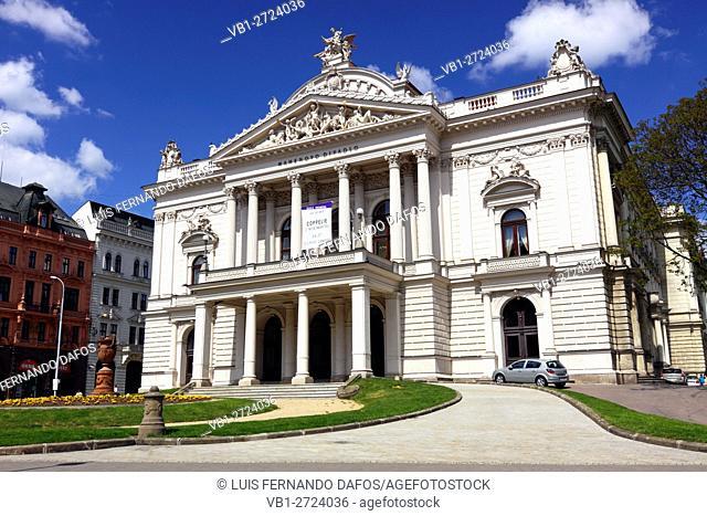 Brno Opera House Theatre. Czech Republic