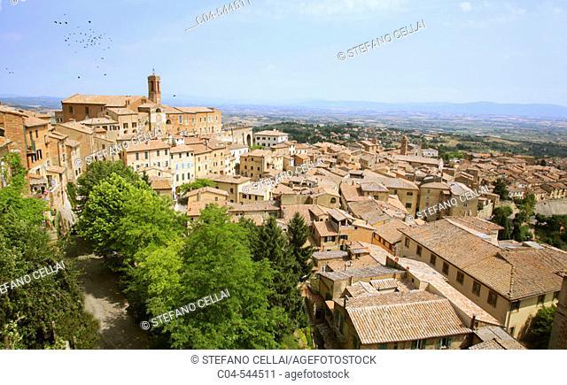 Montepulciano. Tuscany, Italy