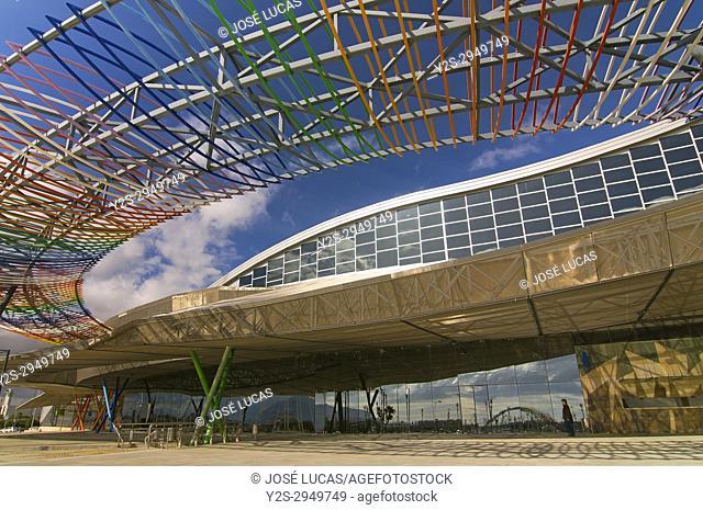 Trade Fairs and Congress Center, Malaga, Region of Andalusia, Spain, Europe