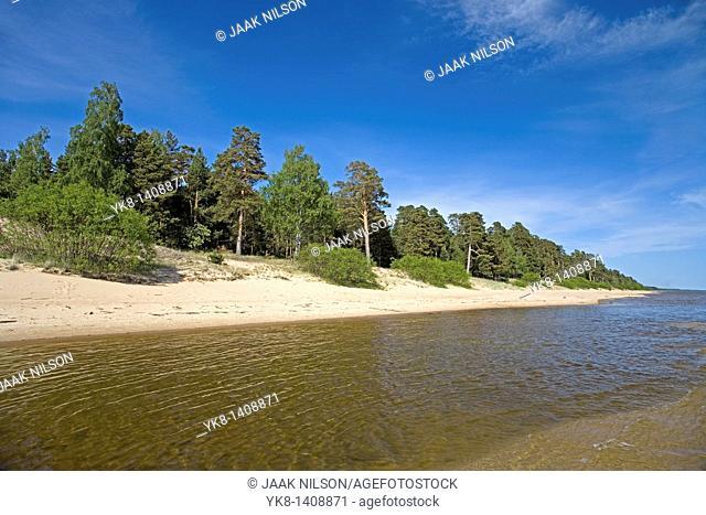 Lake Peipsi, Ida-Viru County, Estonia, Europe