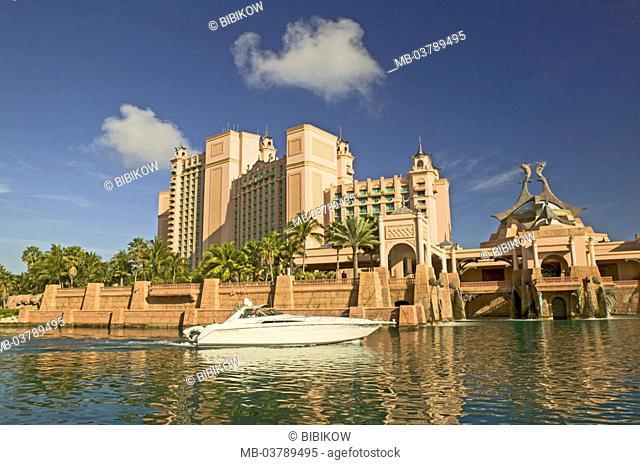 Bahamas, Nassau, luxury hotel, Casino, buildings, panorama