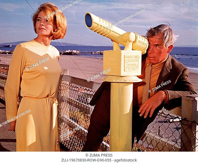 Aug 30, 1967; Los Angeles, CA, USA;Actress ANGIE DICKENSON stars as Chris and LEE MARVIN stars as Walker in 'Point Blank