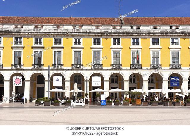 Commerce Square in Lisbon, Portugal