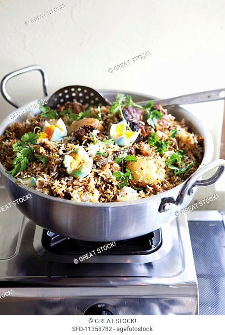 Biryani (fried rice, India)