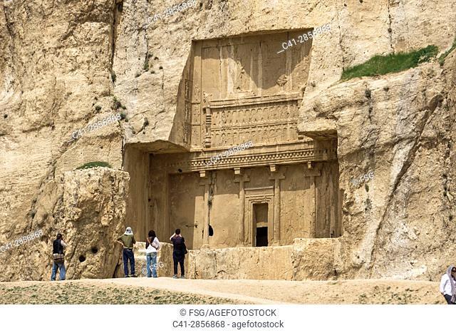 Necropolis of Naqsh-e Rostam. Fars Province. Iran