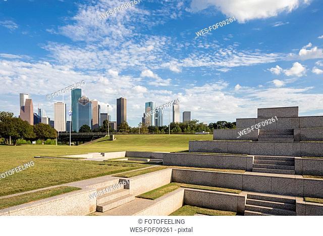 USA, Texas, Houston, Houston Police Officers Memorial