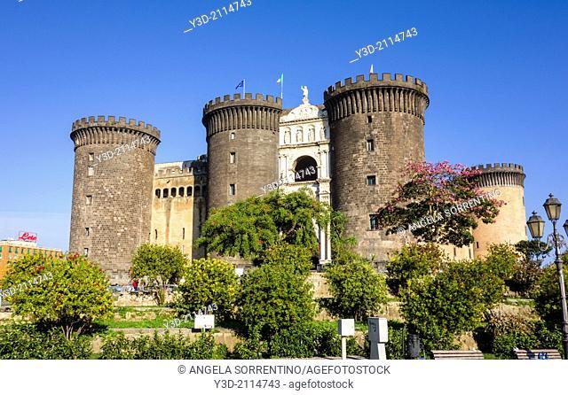 Maschio Angioino Castle, Naples, Italy