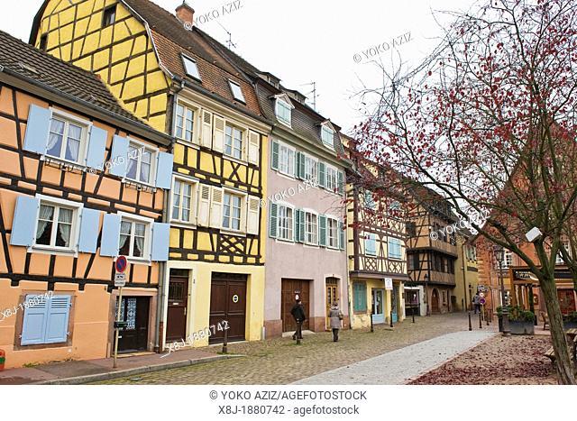 France, Alsace, Colmar, Petite Venice