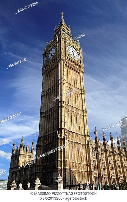 Elizabeth Tower or Big Ben, London, UK