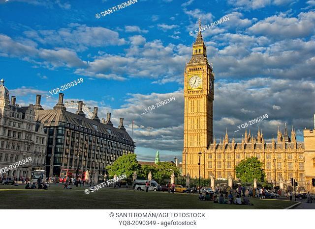 Big ben, Houses of Parliament, England