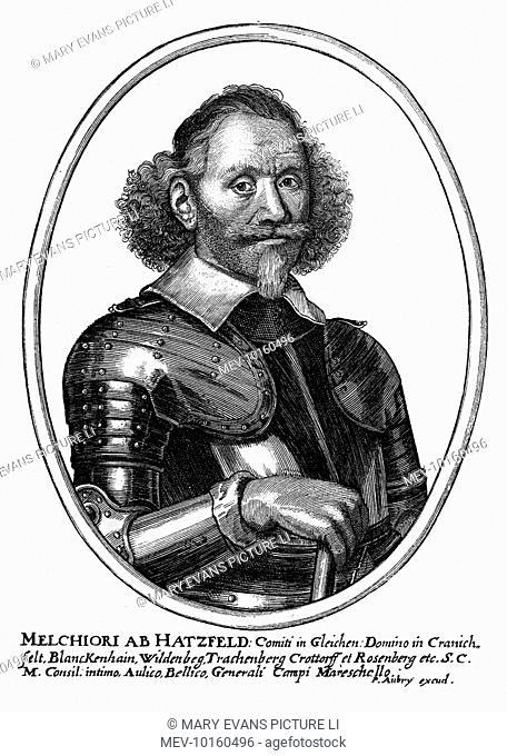 MELCHIOR VON HATZFELDT graf von Gleichen Imperial military commander