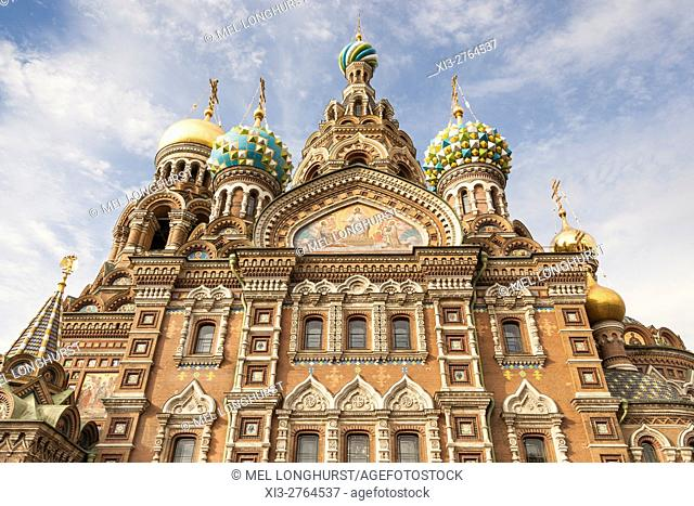 Church on Spilled Blood, also Church of the Saviour on Spilled Blood, St Petersburg, Russia