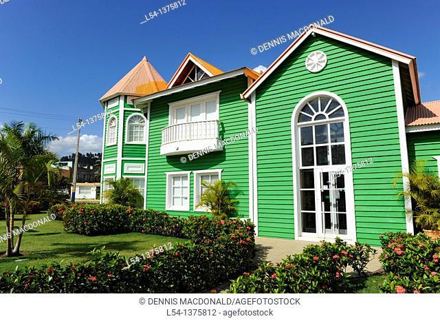 Colorful Shops Samana Dominican Republic Hispaniola Southern Caribbean Cruise