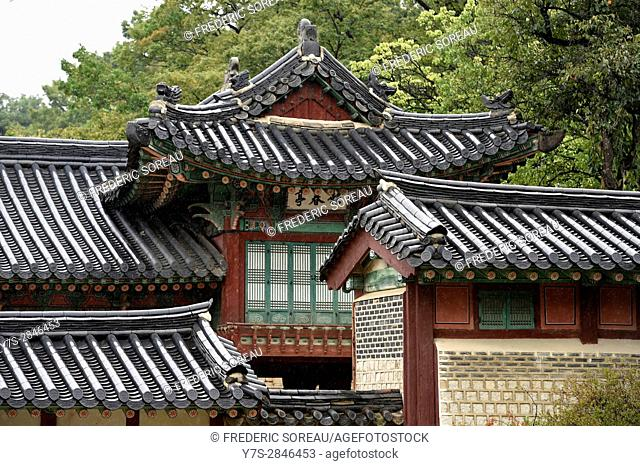 House in Changdeokgung Palace,Seoul,South Korea