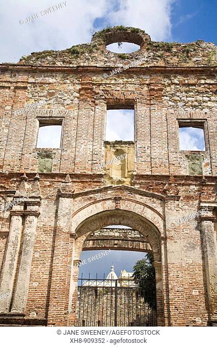 Church of La Compañia de Jesus ruins, Casco Viejo (old quarter), Panama City, Panama