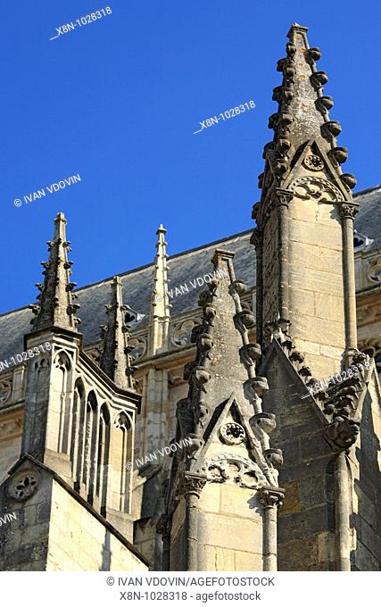 Bourges Cathedral 1195-1270, UNESCO World Heritage Site, Bourges, France