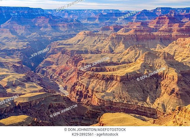 Grand Canyon views from Lipan Point, Grand Canyon National Park, Arizona, USA