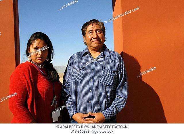 Huhugam Indian Couple, Chandler,  Arizona, United States
