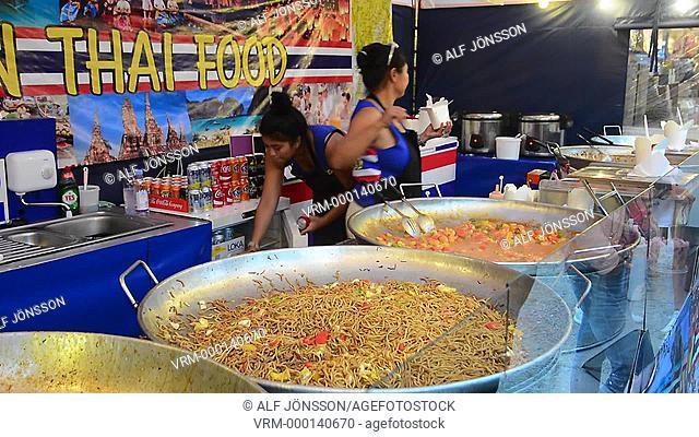 Cooking, Thai food