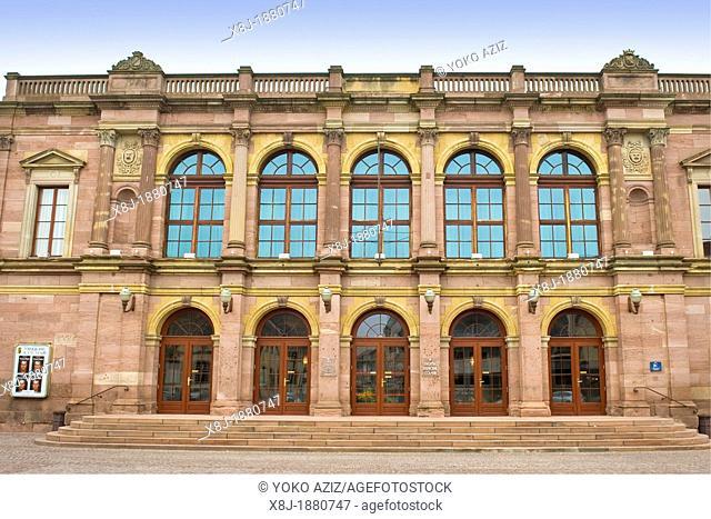 France, Alsace, Colmar, Municipal theater