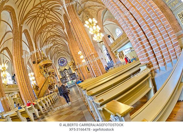 Cathedral of Saint Nicholas, Storkyrkan, Stockholm, Sweden, Scandinavia, Europe