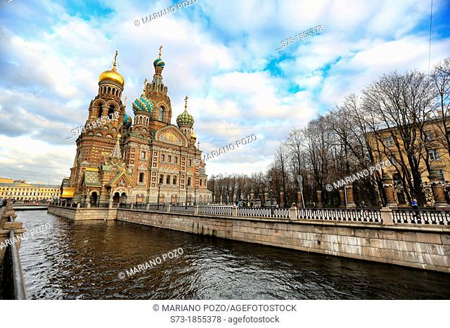 Church of Our Savior on the Spilled Blood St, Saint-Petersburg, Russia