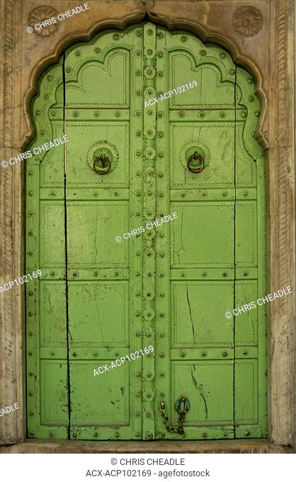 Doorway, Jaipur, Rajastan, India