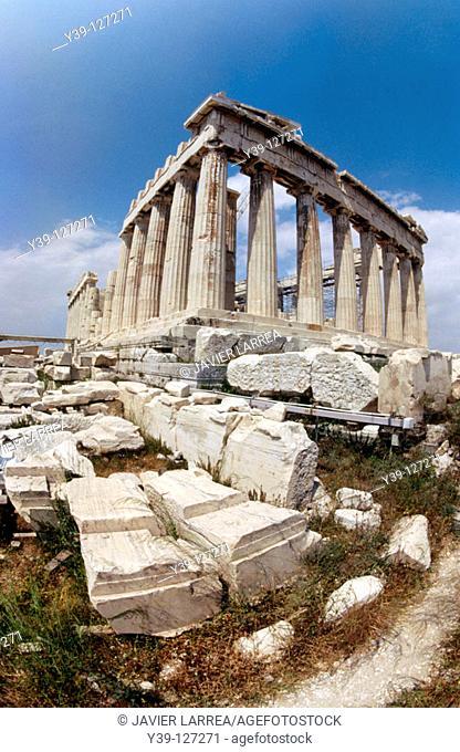Parthenon, Acropolis, Athens. Greece