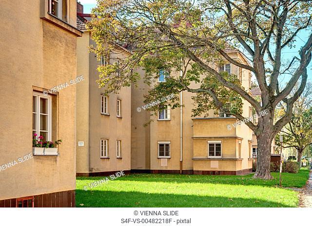 Österreich, Wien, Wohnhäuser der 30er Jahre