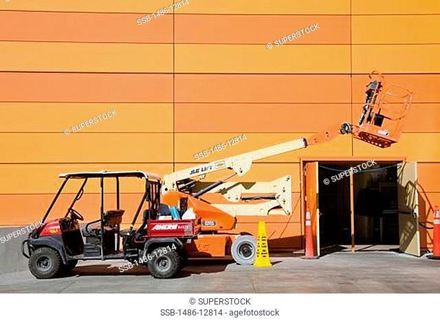 Construction of CityCenter, The Strip, Las Vegas, Nevada, USA