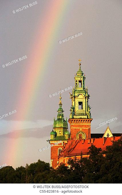 Wawel Hill and Castle,Wawel Cathedral,Cracow, Krakow,Poland