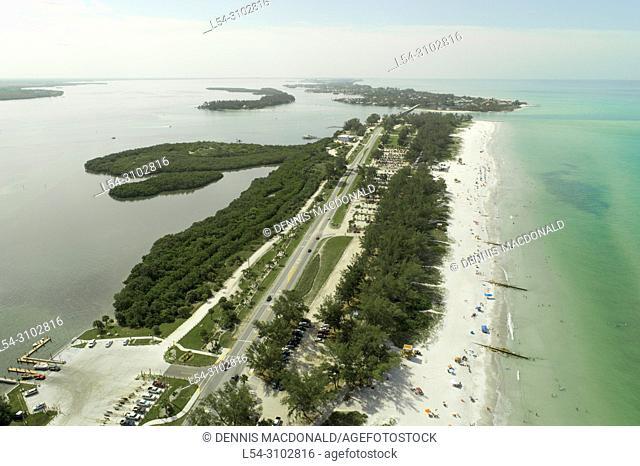 Beaches at Anna Maria Island at Bradenton Florida FL beach